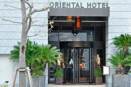オリエンタルホテルの門松