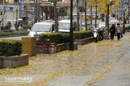 黄色い道路