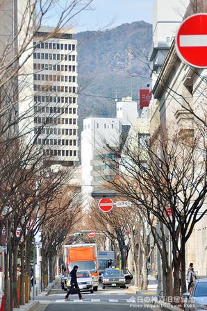 山が近い神戸旧居留地