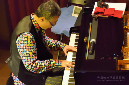 飯田一樹さんピアノ