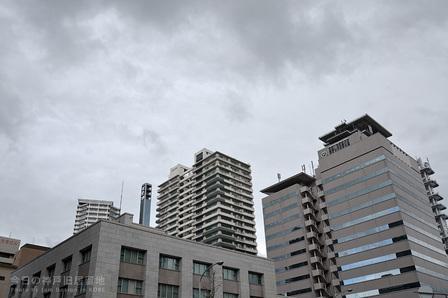 小雨降る神戸旧居留地