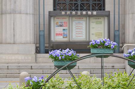 神戸市立博物館前